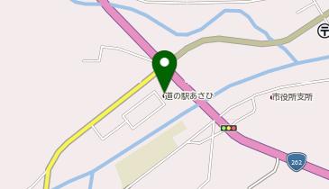 道の駅 あさひの地図画像