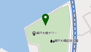 道の駅 瀬戸大橋記念公園の地図画像