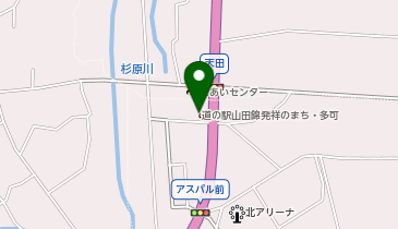 道の駅 山田錦発祥のまち・多可の地図画像