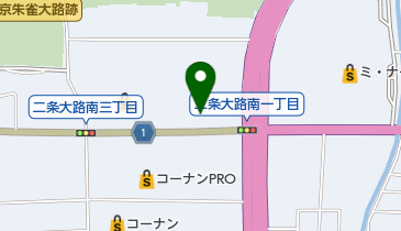 無添 くら寿司 奈良大宮店の地図画像