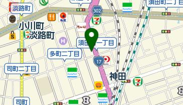 やよい軒 神田北口店の地図画像