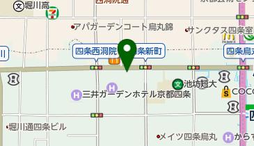 やよい軒 四条烏丸店の地図画像