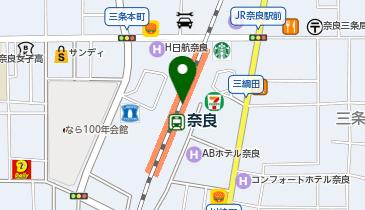 やよい軒 奈良駅店の地図画像
