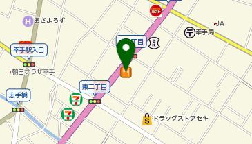 やよい軒 幸手東店の地図画像