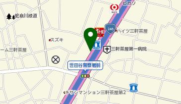スポーツクラブ ルネサンス 三軒茶屋の地図画像