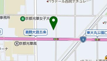 西松屋 五条葛野店の地図画像