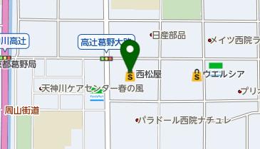 西松屋 葛野大路高辻店の地図画像