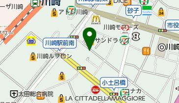 喫茶室ルノアール 川崎銀柳街店の地図画像