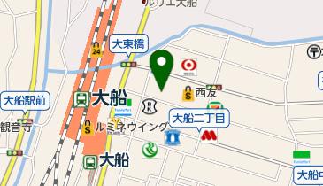 ミヤマ珈琲 大船駅前店の地図画像