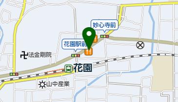 カレーハウスCoCo壱番屋 京都花園店の地図画像