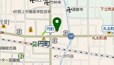カレーハウスCoCo壱番屋 円町店の地図画像