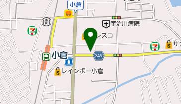 カレーハウスCoCo壱番屋 宇治小倉店の地図画像