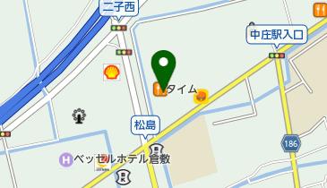 カレーハウスCoCo壱番屋 倉敷中庄店の地図画像