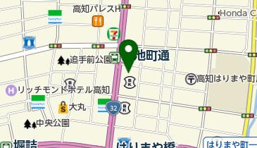 カレーハウスCoCo壱番屋 高知はりまや橋店の地図画像
