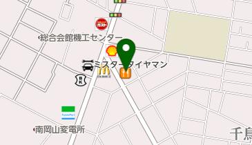 カレーハウスCoCo壱番屋 岡山三浜店の地図画像