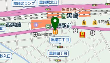 カレーハウスCoCo壱番屋 黒崎JR駅前店の地図画像