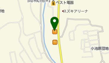 カレーハウスCoCo壱番屋 大分明野店の地図画像