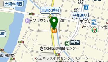 カレーハウスCoCo壱番屋 小倉馬借店の地図画像
