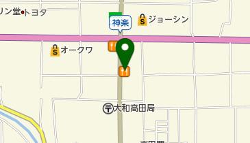 カレーハウスCoCo壱番屋 大和高田神楽店の地図画像