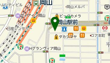 カレーハウスCoCo壱番屋 岡山駅前店の地図画像