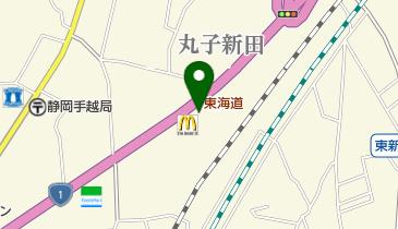 カレーハウスCoCo壱番屋 静岡丸子新田店の地図画像