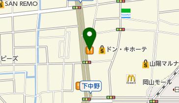 カレーハウスCoCo壱番屋 岡山下中野店の地図画像