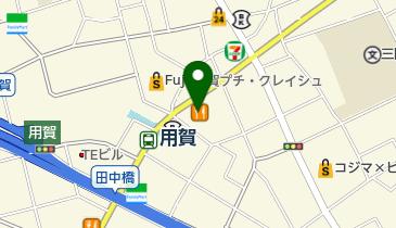 カレーハウスCoCo壱番屋 東急用賀駅前店の地図画像