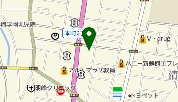 カレーハウスCoCo壱番屋 敦賀本町店の地図画像