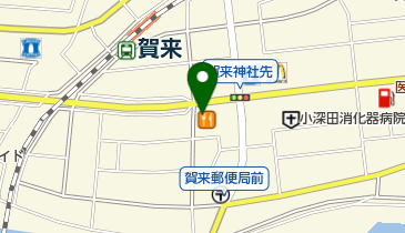 カレーハウスCoCo壱番屋 大分賀来店の地図画像