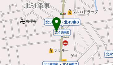 カレーハウスCoCo壱番屋 東区栄町店の地図画像