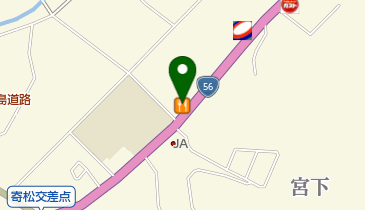 カレーハウスCoCo壱番屋 宇和島国道56号店の地図画像