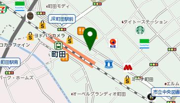 駅レンタカー 町田駅の地図画像