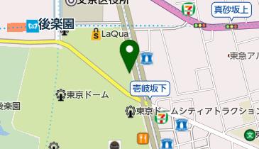 紅虎餃子房 東京ドームシティラクーア店の地図画像