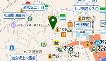 ユニクロ 渋谷道玄坂店の地図画像