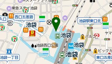 ユニクロ 池袋東武店の地図画像