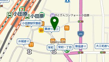 日高屋 小田原店の地図画像