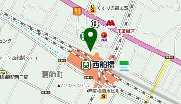 日高屋 西船橋北口店の地図画像