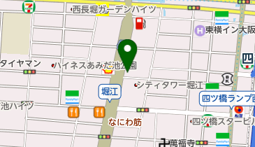 ゴルフパートナー なにわ筋長堀店の地図画像