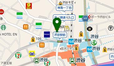 SHIBUYA TSUTAYAの地図画像