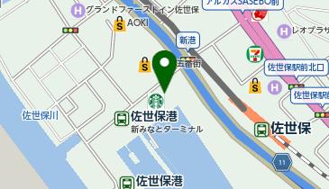 TSUTAYA BOOKSTORE させぼ五番街店の地図画像