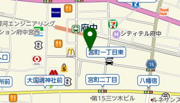 マツモトキヨシ matsukiyoLAB 府中駅南口くるる店の地図画像