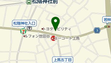 どらっぐぱぱす 若林店の地図画像
