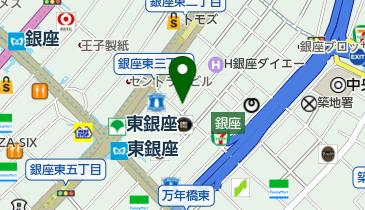 ぱぱす薬局 銀座木挽町店の地図画像