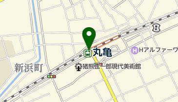 ニッポンレンタカー 丸亀駅 営業所の地図画像