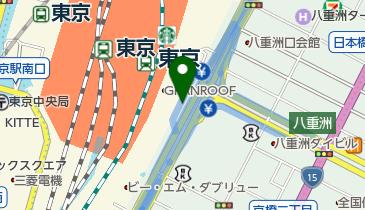 ニッポンレンタカー 東京駅八重洲南口 営業所の地図画像