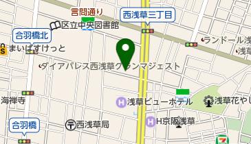 ニッポンレンタカー TX浅草 営業所の地図画像