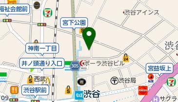ニッポンレンタカー 渋谷駅東口 営業所の地図画像