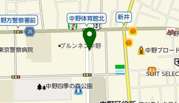 ニッポンレンタカー 中野北口駅前 営業所の地図画像