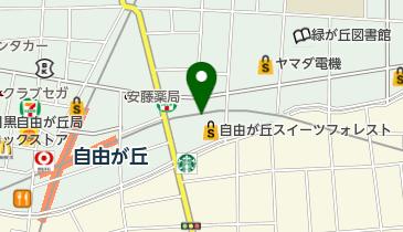 ニッポンレンタカー 自由が丘駅前 営業所の地図画像