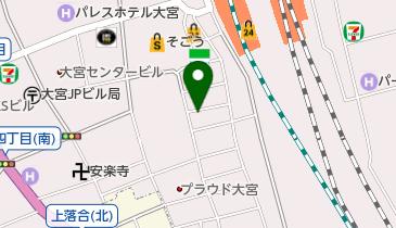 ニッポンレンタカー 大宮駅西口 営業所の地図画像